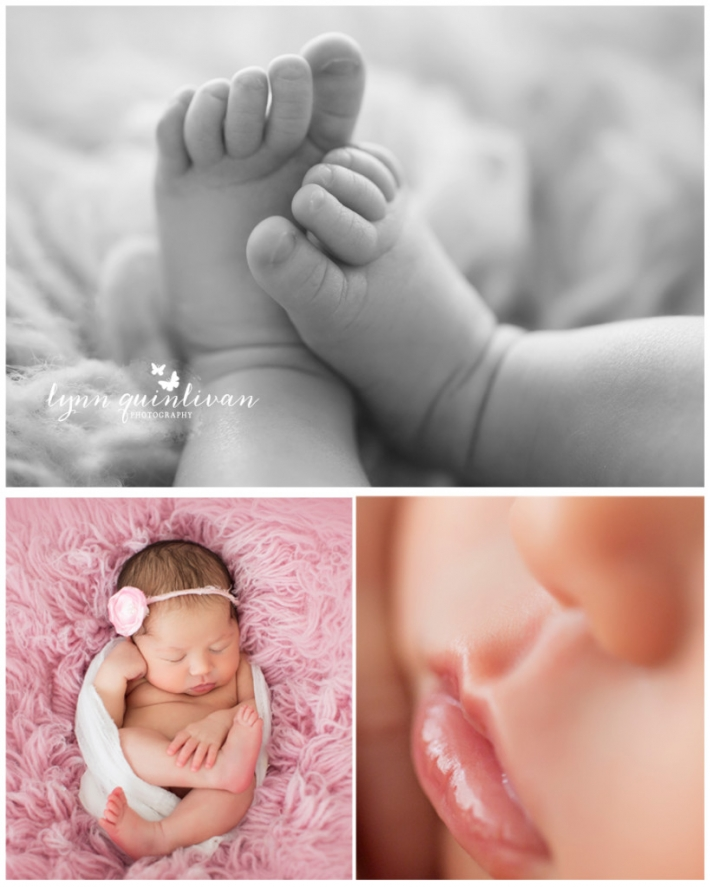 Massachusetts Newborn Photographer Tiny Details Hands Feet Pink