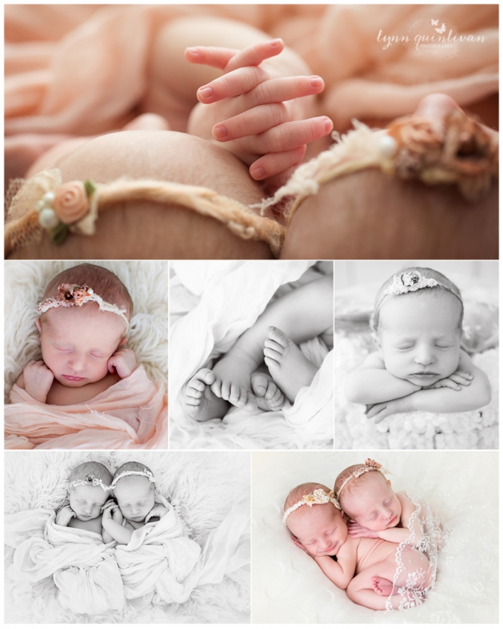 Blessed with twins ma newborn twin photography