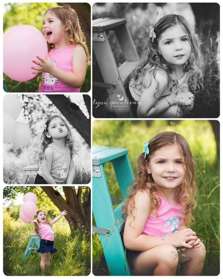Massachusetts Outdoor Child Portraits