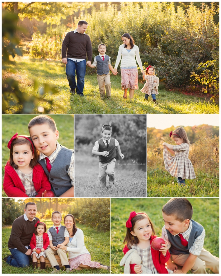 Outdoor Massachusetts Family Photographs