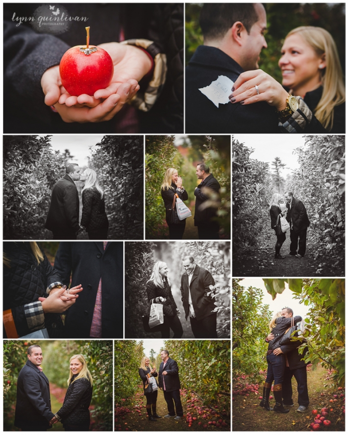 Massachusetts Surprise Engagement Photography Session