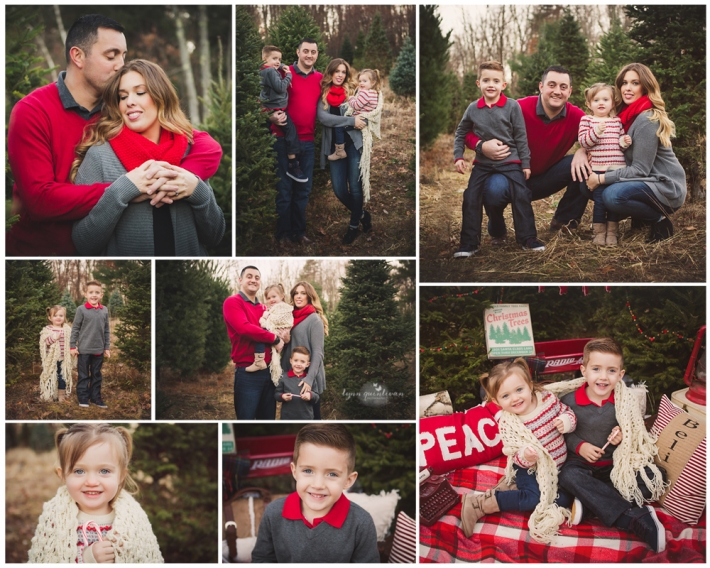 Massachusetts Petite Holiday Photo Session