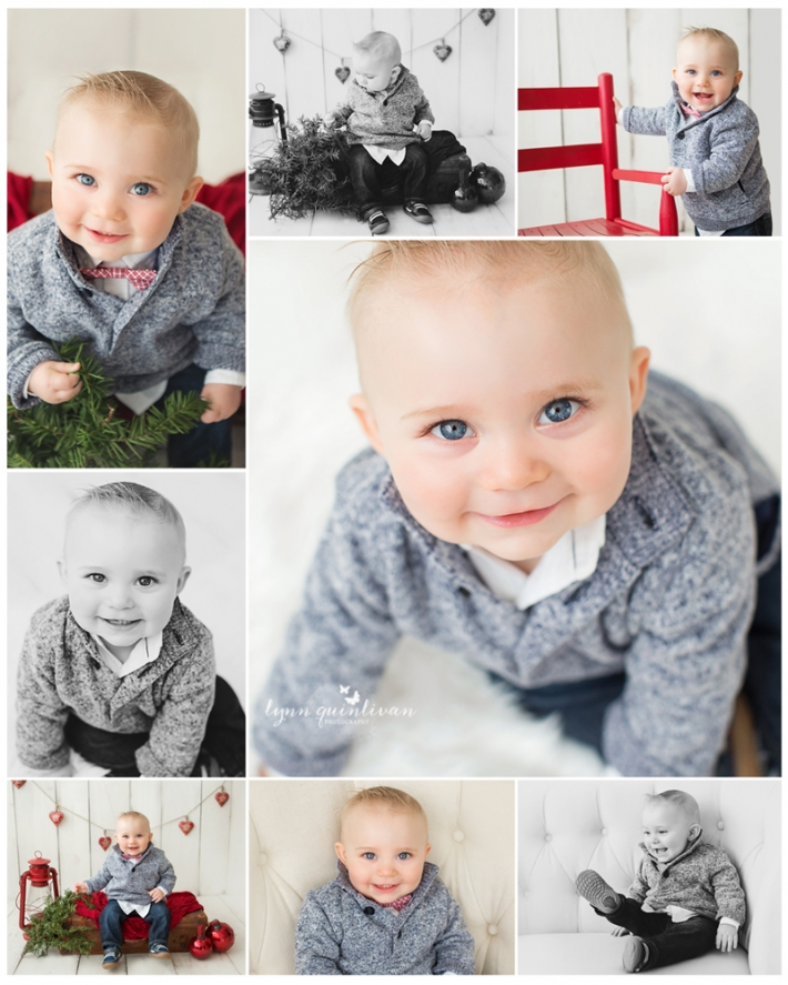MA 8 Month Old Studio Photography