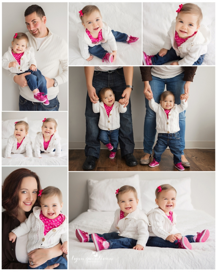 MA Twin First Birthday Photo Session