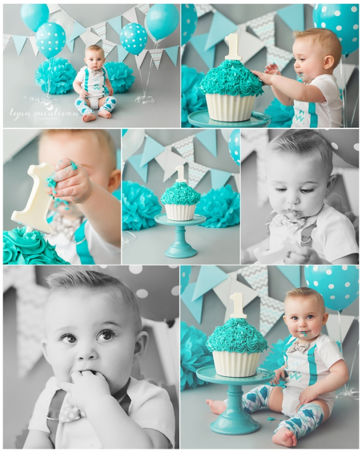 Massachusetts First Birthday Cake Smash Photographer
