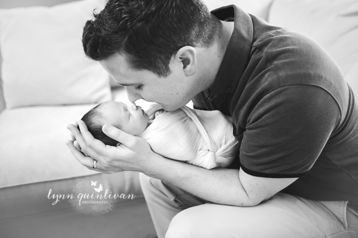 Newborn and Dad Photography
