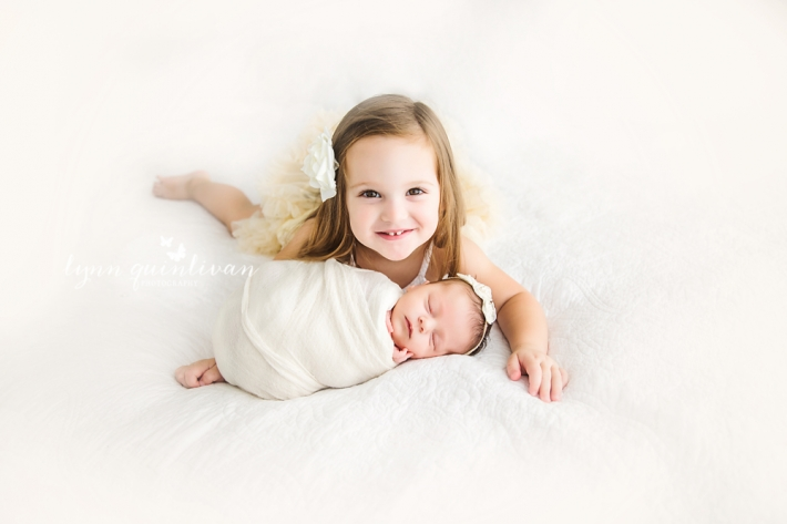 MA Newborn and Sibling Photography