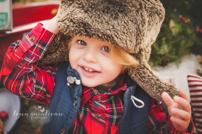 Central MA Holiday Mini Session Photography
