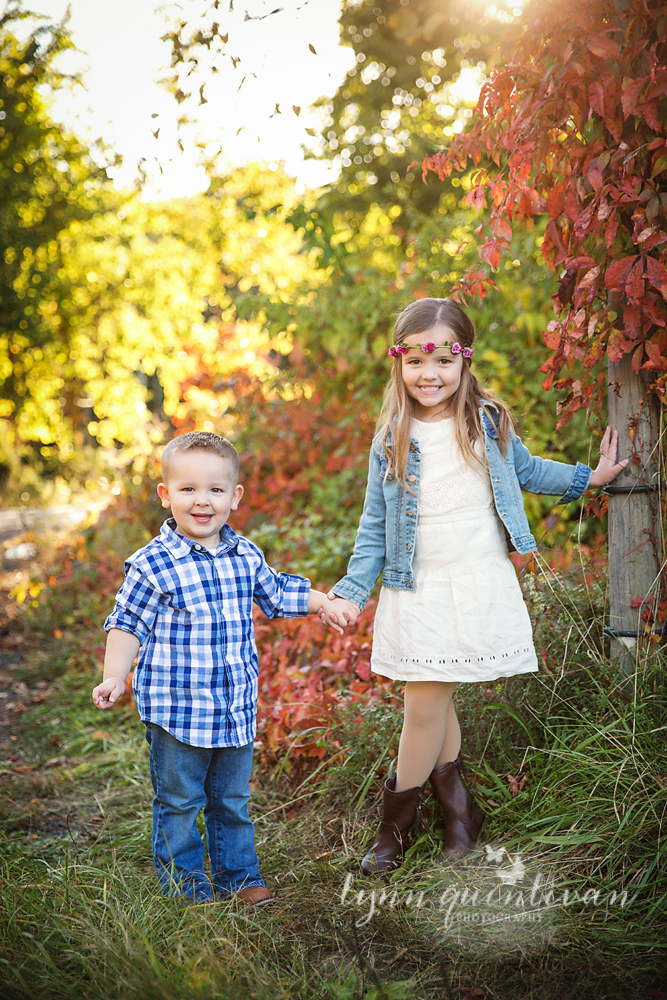Fall Family Photos In Massachusetts